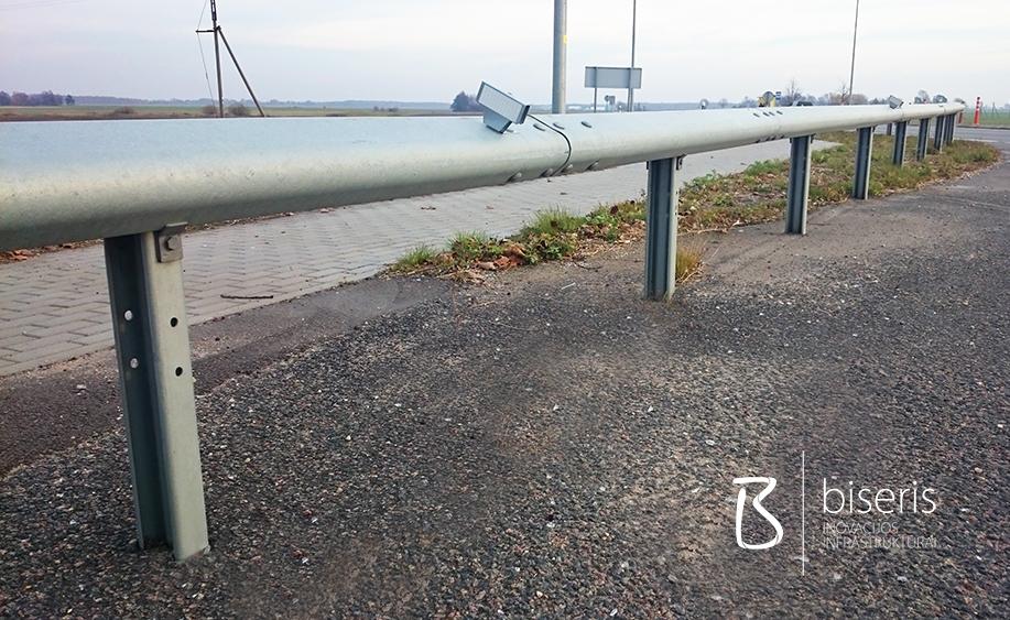 Elipsės formos kelio atitvarai pėsčiųjų ir dviračių takams
