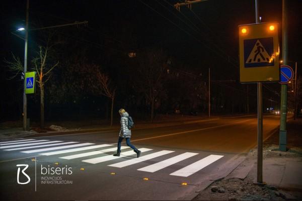 Išmaniosios pėsčiųjų perėjos Kaune