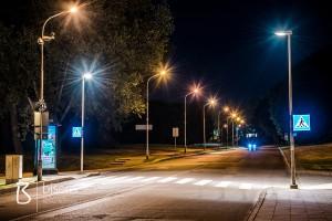 Illuminated road signes
