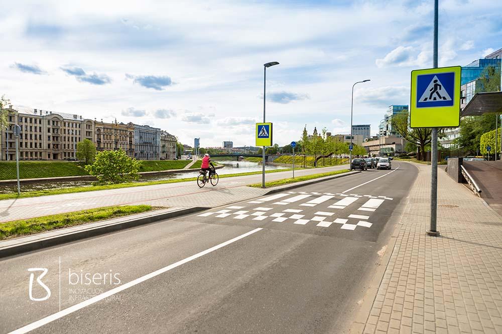 Renovation of Zvejai street in Vilnius